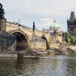 Charles bridge in Prague — Stockfoto #11094950