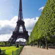 Stock Photo: Eiffel tower. Paris, France