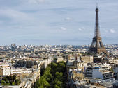 Cityscape of Paris — Stock Photo