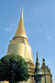 Grand Palace, the major tourism attraction in Bangkok, Thailand — Stock Photo