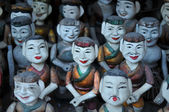 Vietnamese water puppets for its famous water puppet theater — Stock Photo