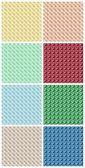 Telas de color — Foto de Stock
