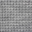 Woolen grey pattern - Stock Photo