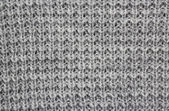 Woolen grey pattern — Stock fotografie