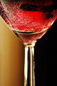 Sparkling red wine — Stock Photo