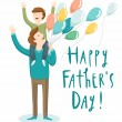 Vector de stock : Father