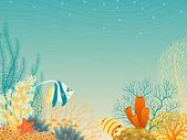 Sea life — Stock Vector