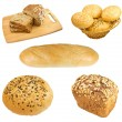 Set bread — Stock Photo