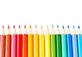 Colored pencils — Stock fotografie