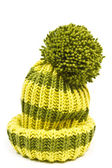 Knitted woolen hat — Stock Photo