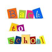 Back to school — Stock vektor