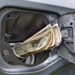 High Cost of Gasoline - Stock Photo