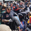 Постер, плакат: Red Bull F1 Mechanics