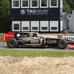 2011 Lotus Renault R30 F1 racing car — Stock Photo #11540034