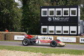 1970 Lotus Cosworth 72 3 litre V8 F1 racing car — Stock Photo