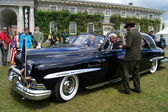 1950 limousine cosmopolite de lincoln — Photo