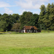 Stock Photo: Cricket Pavilion