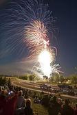 Fireworks Stouffville, Ontario — Stock Photo