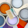 Stock Photo: Paint
