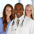 Stock Photo: Doctor and Nurses