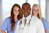 Doctor and Nurses — Stock Photo