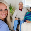 Royalty-Free Stock Photo: Home Health Care