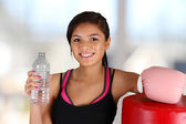 Teenager Workout — Stock Photo