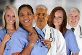 Hospital Staff — Stock Photo