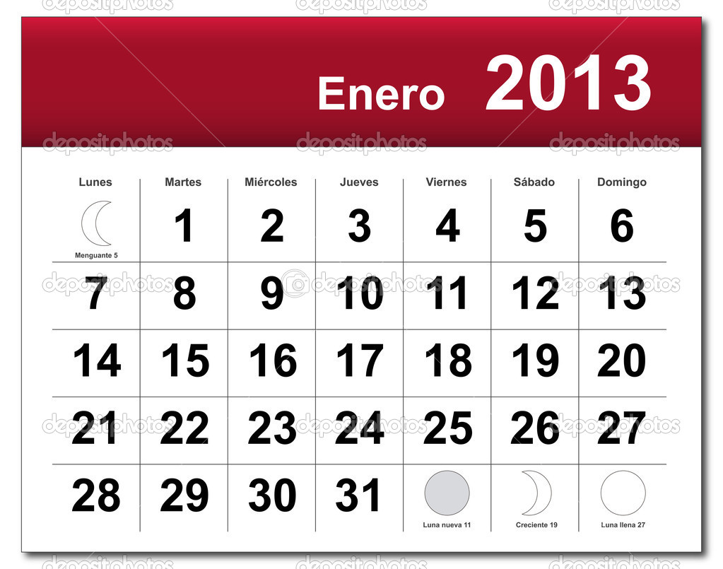 january 2018 calendar in spanish newcalendar