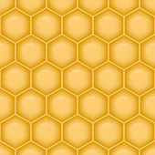 Seamless vector background with structure of honeycomb. — Stock Vector