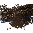 A photo of coffee beans - Stock Photo