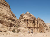 Monastery Petra — Stock Photo