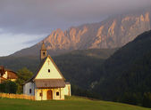 Church Dolomites — Stock Photo