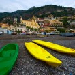 Stock Photo: Canoe Positano