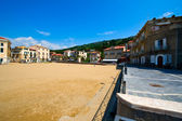 Golden beach of Santa Maria di Castellabate — Stock Photo