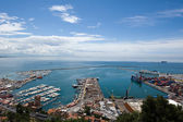 Banchine del porto — Foto Stock