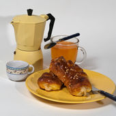 Prima colazione — Stock Photo