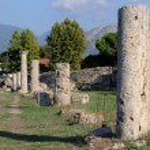 Colonne valle dei templi paestum — Stock Photo #11748347