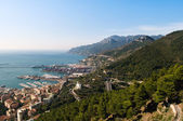 Mare e monti - Salerno — Stock Photo