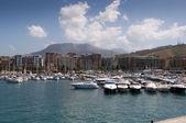 Porto turistico salerno — Stock fotografie