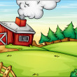 Farm — Vector de stock #10748855