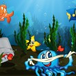 Underwater - Stock Vector