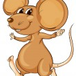 Cute mouse — Image vectorielle