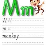 Alphabet handwriting series — Stock Vector #10862248