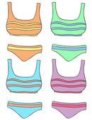 Clothes — Stock Vector