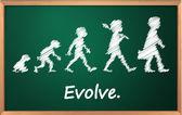 évolution — Vecteur