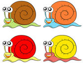 Snails — Stock Vector