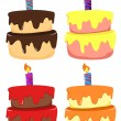 Royalty-Free Stock Vector Image: Cakes