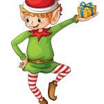 pequeno elfo — Vetorial Stock