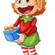 Little elf — Stock Vector #10947279